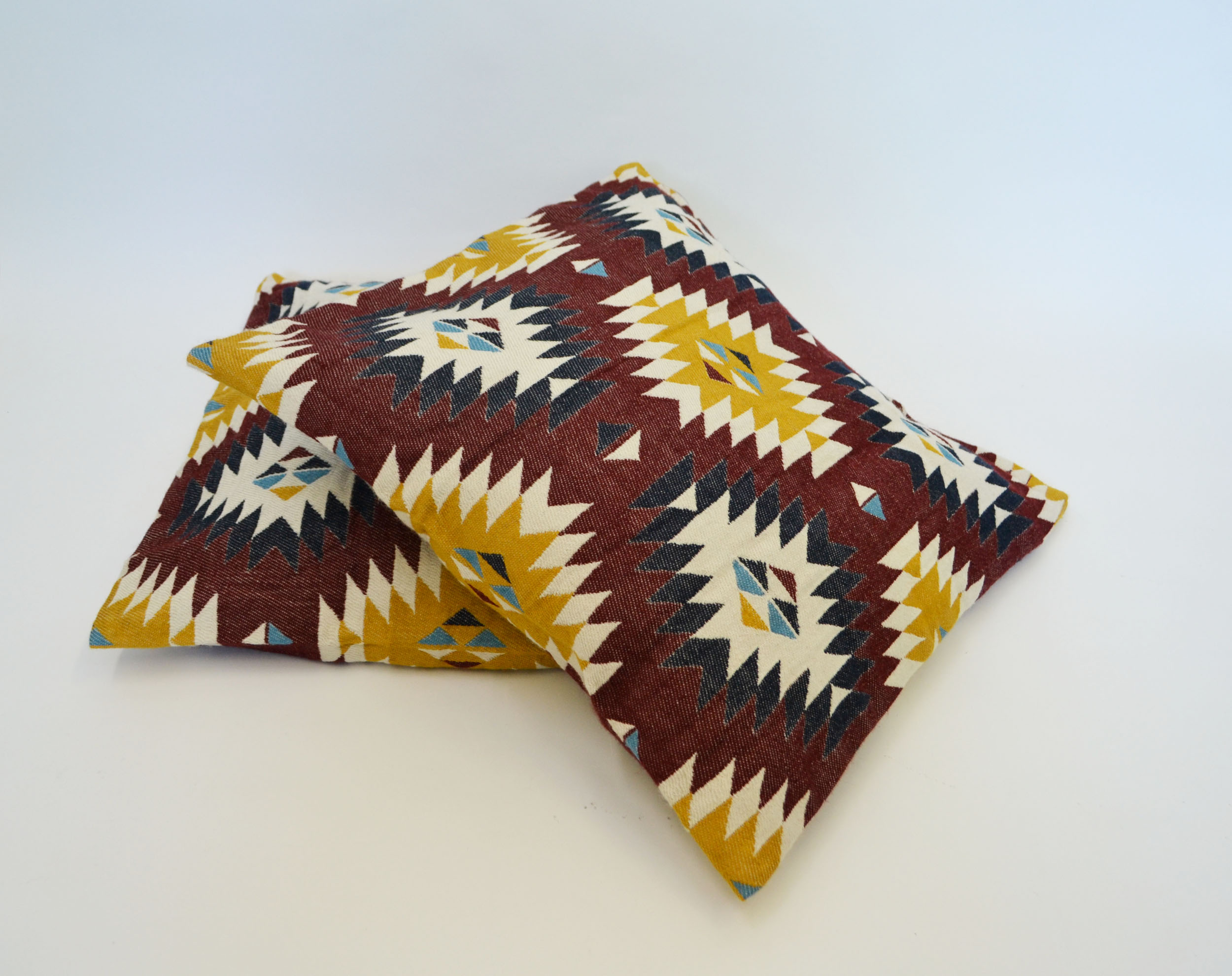 south western pillow - red   Quantity: 2  Price: $10.00