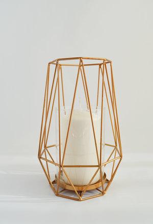 kaylin Lantern   gold wire + glass cylinder  Quantity: 15  Price: $25.00