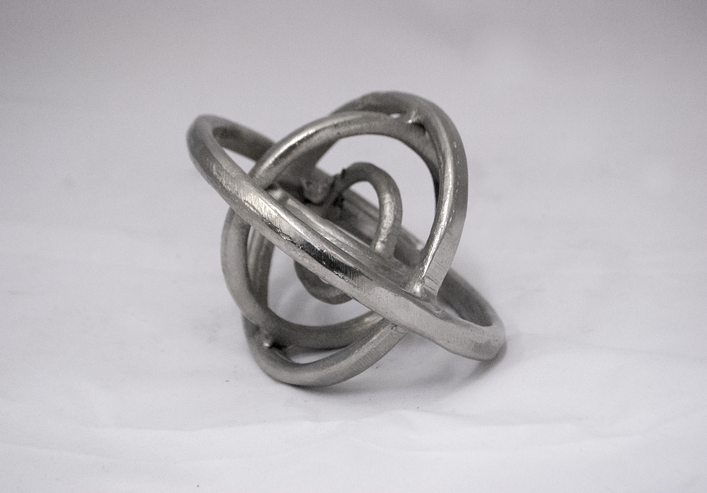 industrial silver sphere   Quantity: 1  Price: $7.50