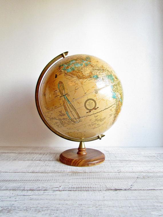 large globe   Quantity: 1  Price: $20.00