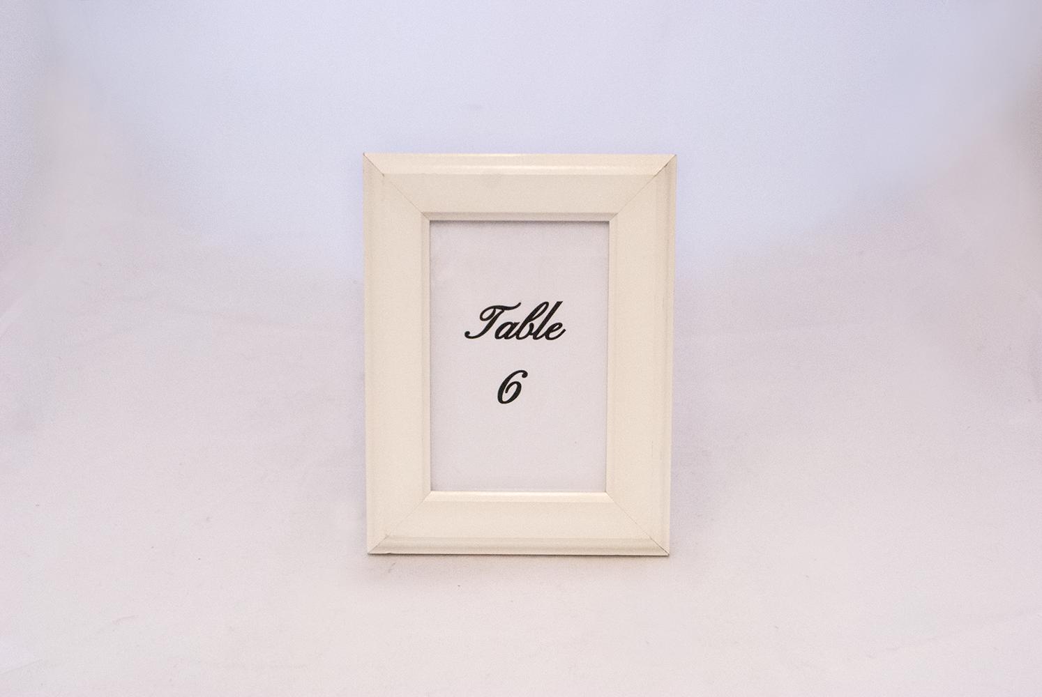 cream frame   Quantity: 17  Price: $8.50