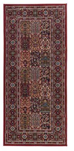 red boho - small carpet runner  quantity: 3 price: $25.00