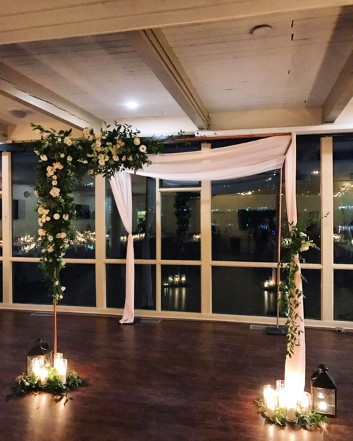 4 post - copper chuppah   Quantity: 1  Price: $200.00