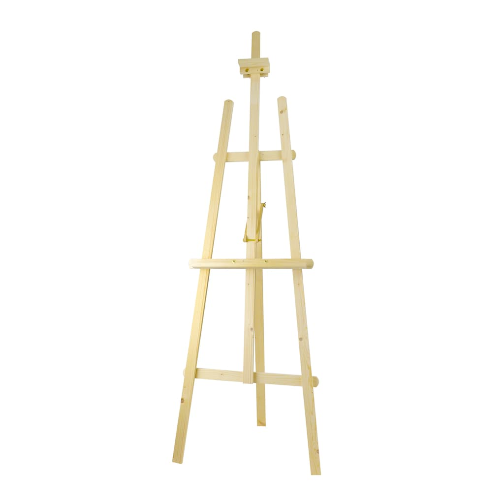 wood easel  Quantity: 1  Price: $25.00