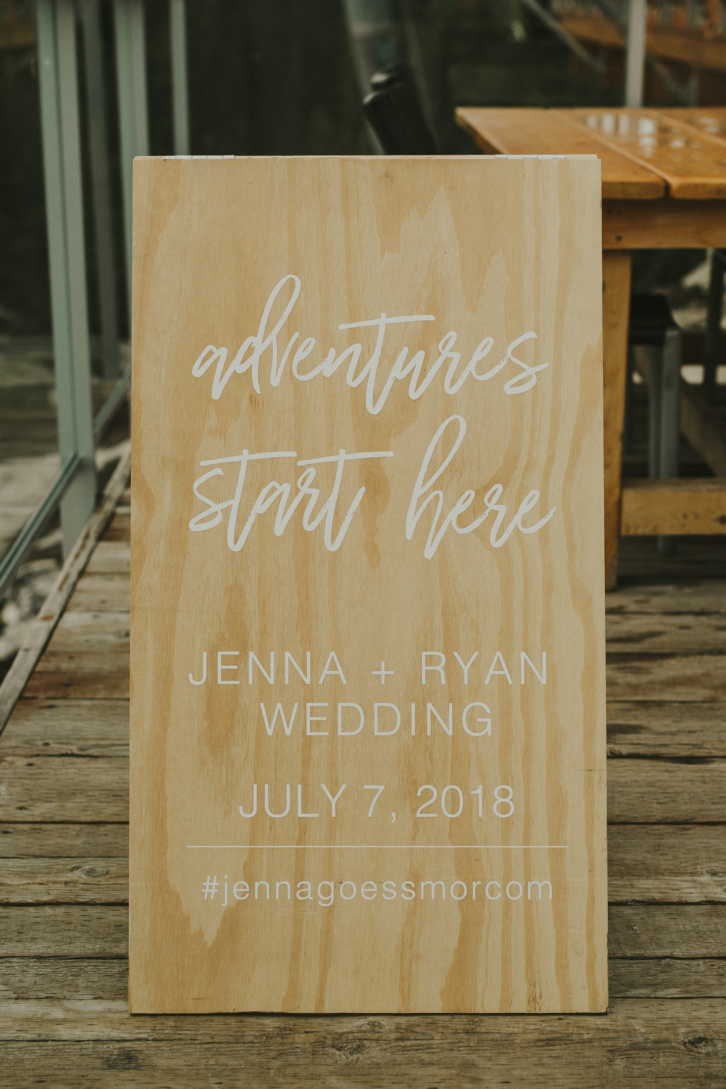 wood sign I  Quantity: 1  Price: $35.00 ($175 including graphic)