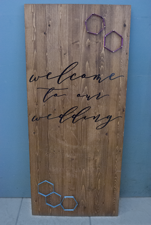 string art - welcome sign  Quantity: 1  Price: $150.00