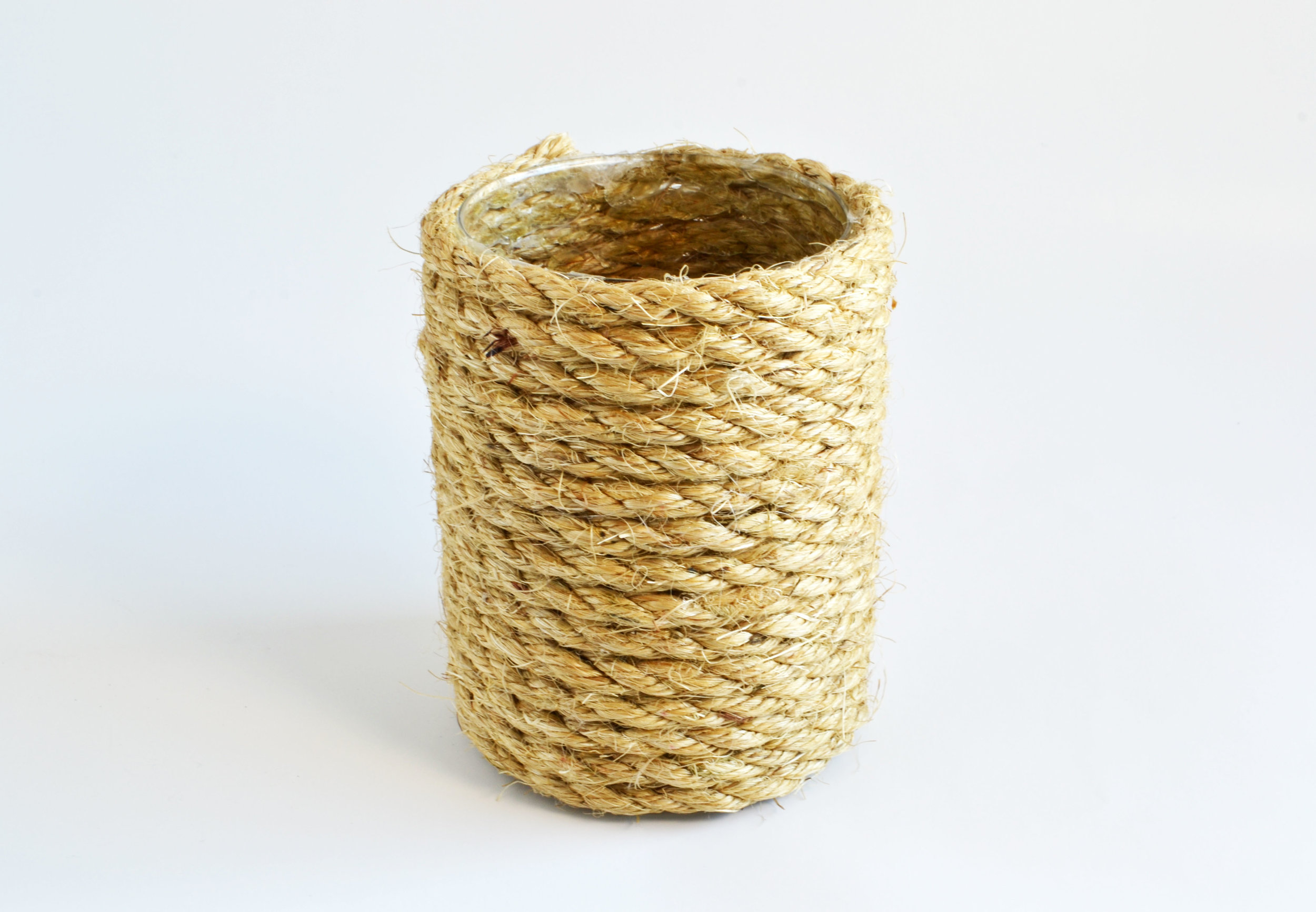 rope votive   Quantity: 19  Price: $3.50