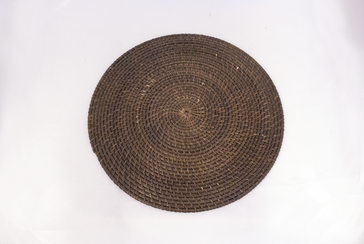 rattan charger (large)   Quantity: 25  Price: $4.50