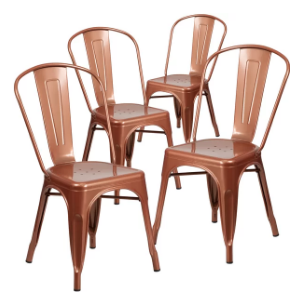 copper industrial chair   Quantity: 100  Price: $11.00