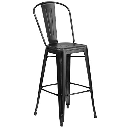 black industrial bar stool   Quantity: 30  Price: $10.50