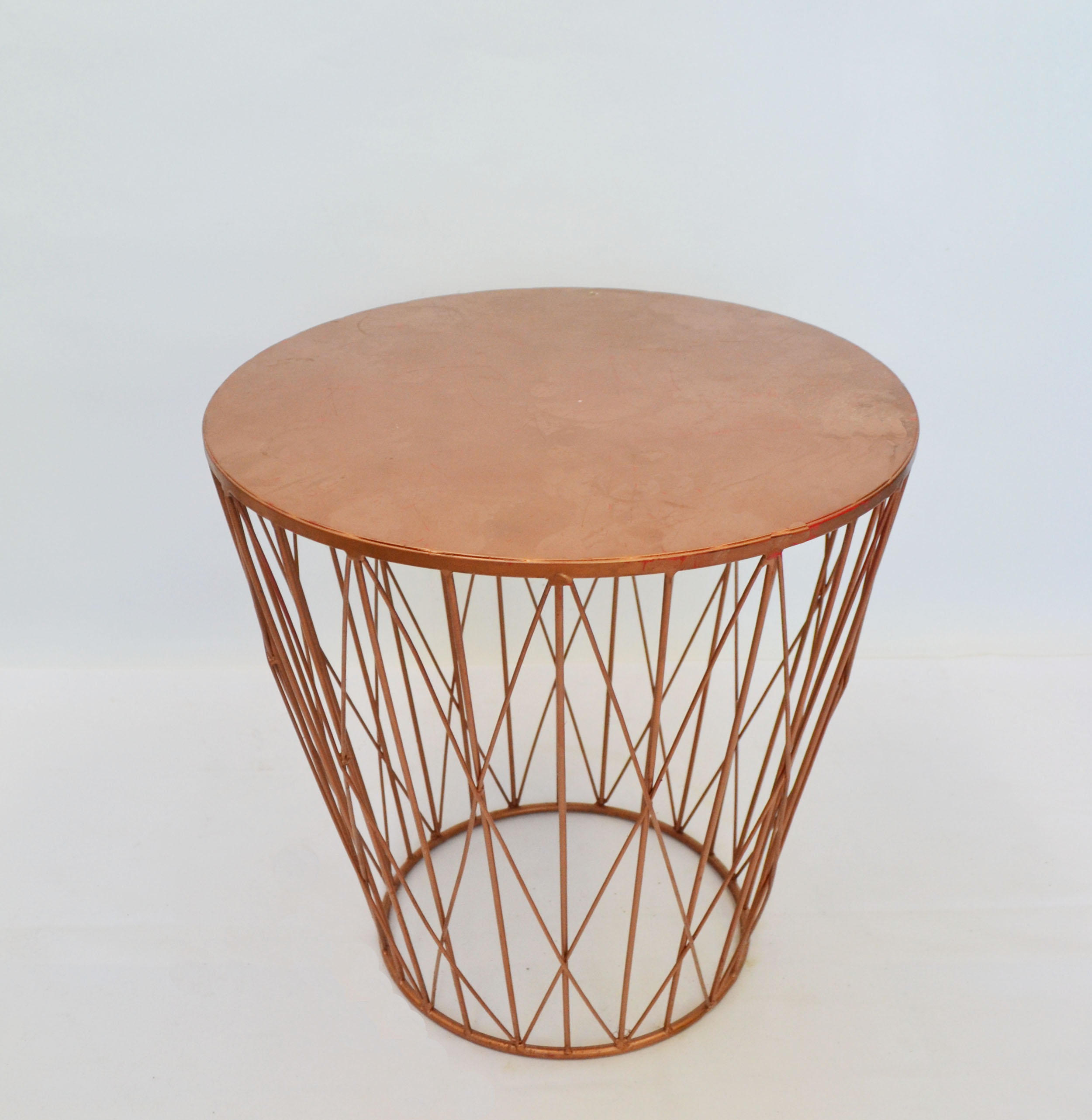 copper side table   Quantity: 1  Price: $35.00