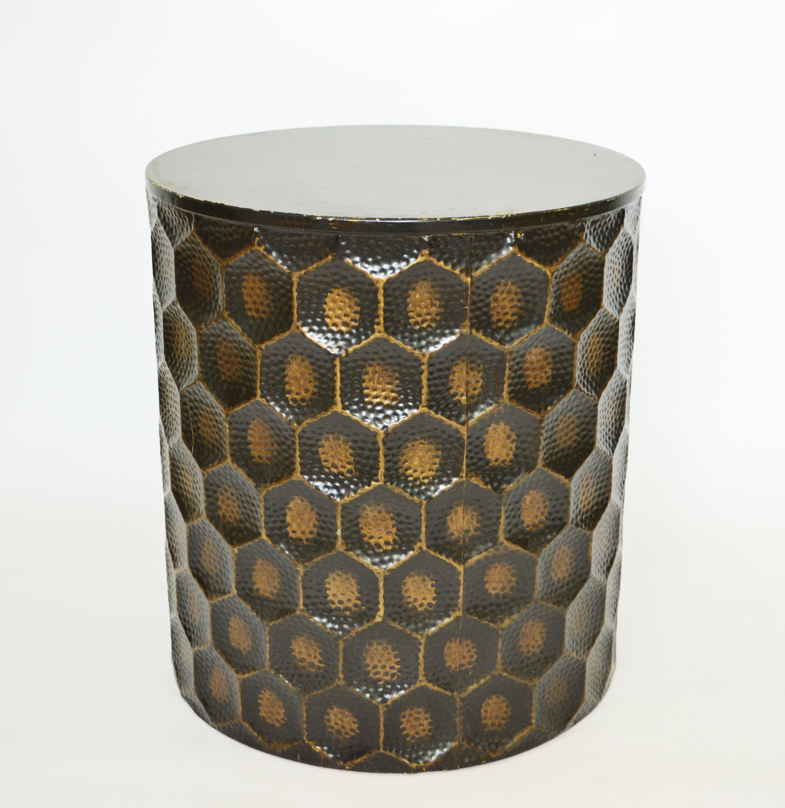 bronze side table   Quantity: 1  Price: $35.00