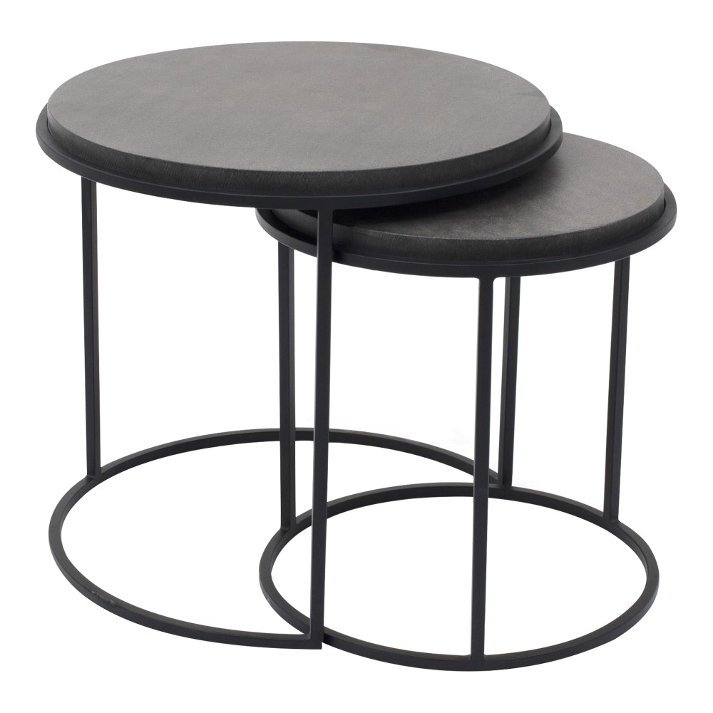 black nesting table   Quantity: 1 **includes both  Price: $45.00