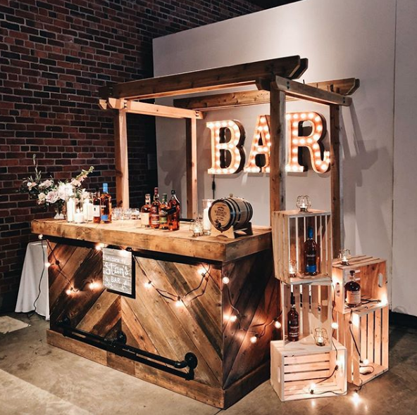 herringbone bar *4 post arch not included*   Quantity: 1  Price: $275.00