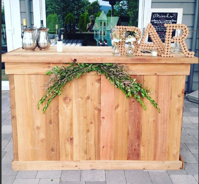 rustic bar   Quantity: 1  Price: $275.00