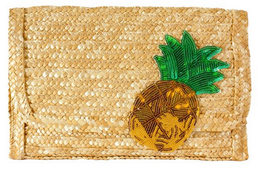 Sidecca Retro Sequin Pineapple Straw Clutch Wallet at Amazon Women's Clothing store .png