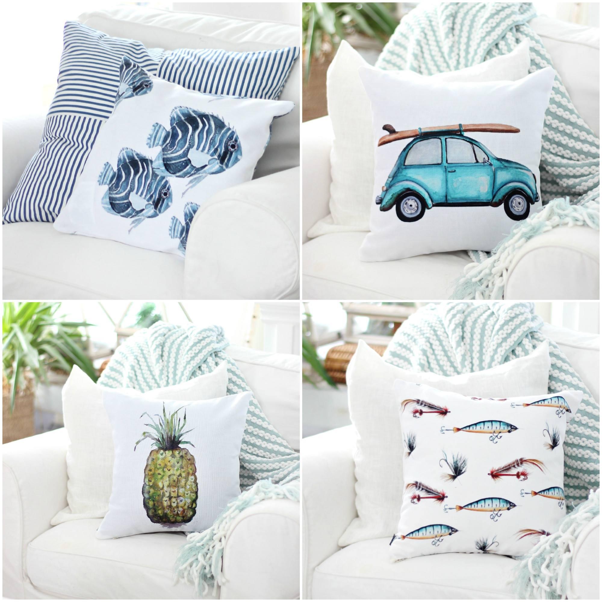Craftberry Bush Pillows