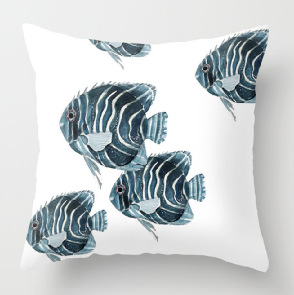 Angelfish Pillow