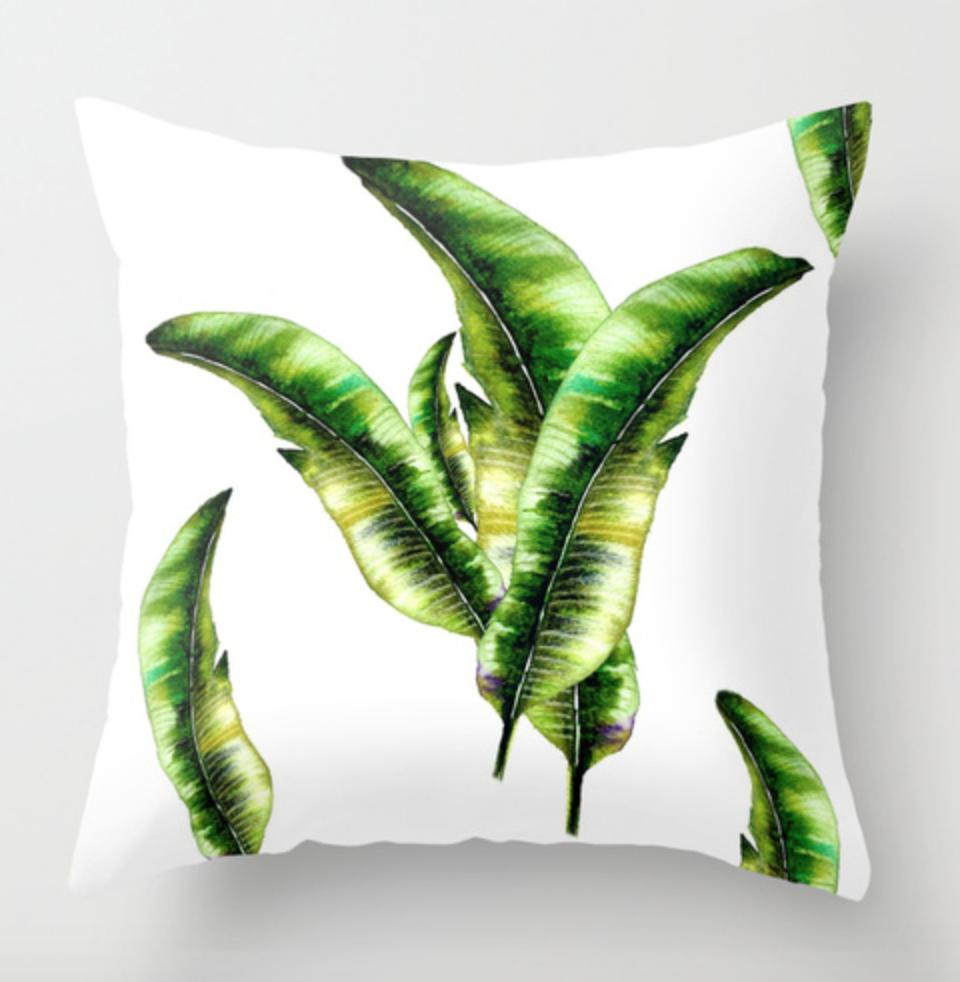 Banana Lead Throw Pillow