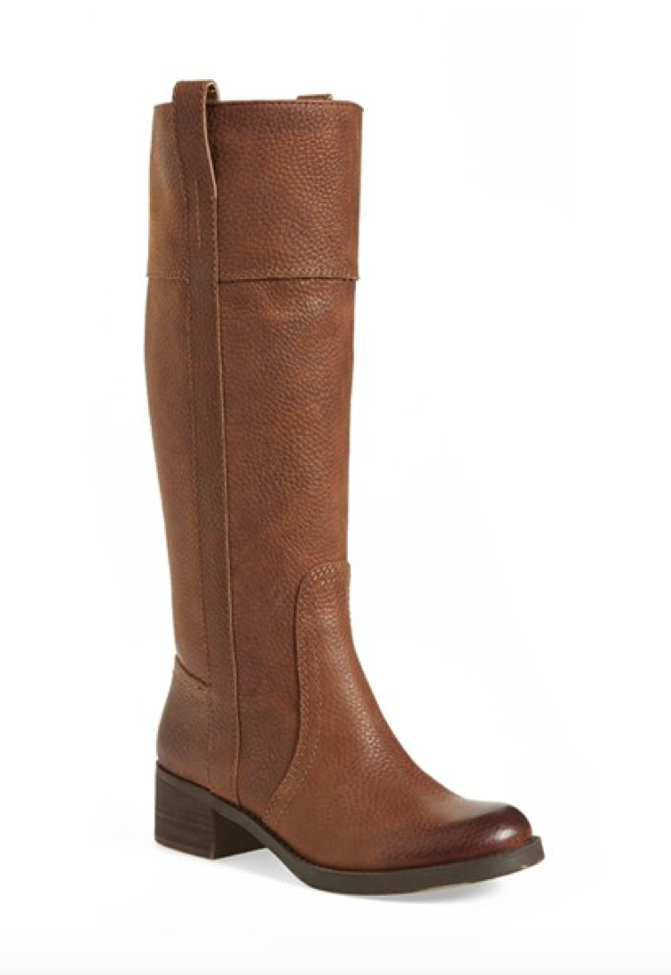 Lucky Brand Pull On Leather Boot