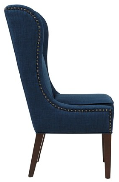 Navy Blue Captains Dining Chair