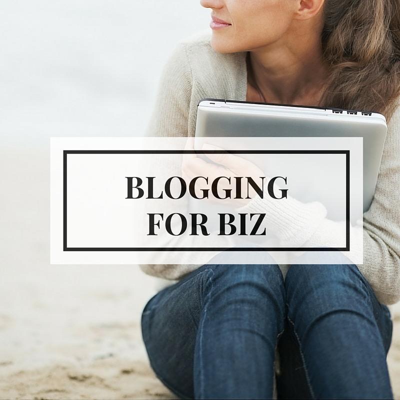 Blogging for Biz Affordable Training!