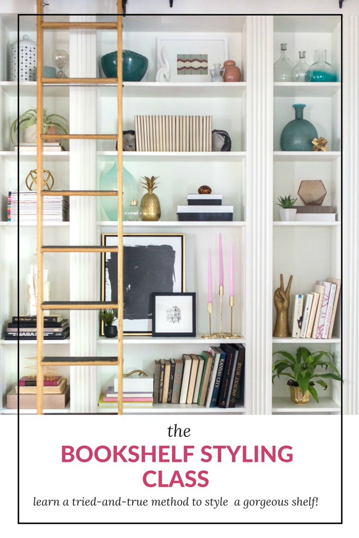 Affordable Bookshelf Styling Class