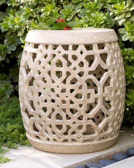 Large Garden Stool for Summer