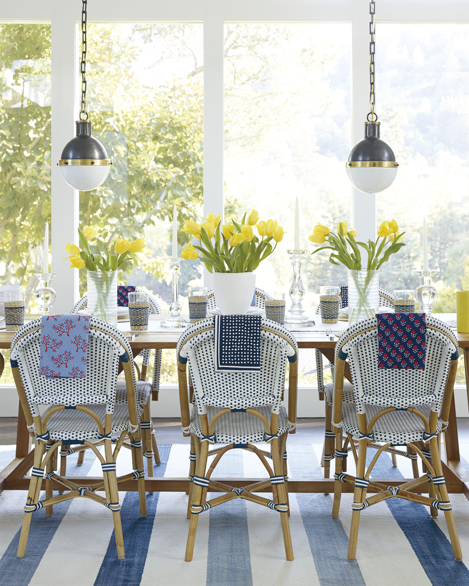 Riviera Side Chair - Gorgeous Coastal Dining Room!
