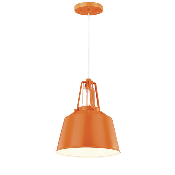 Colorful Orange Mini Pendant Light