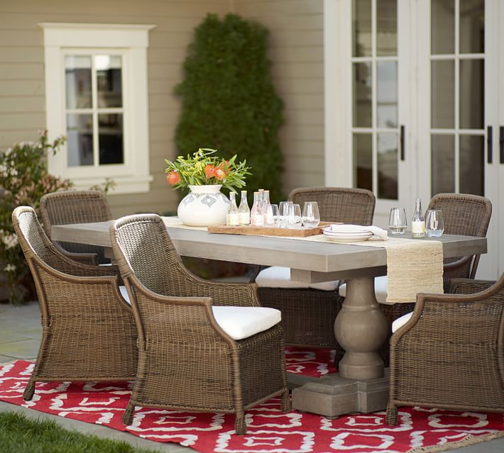 Saybrook All Weather Wicker Dining Armchair