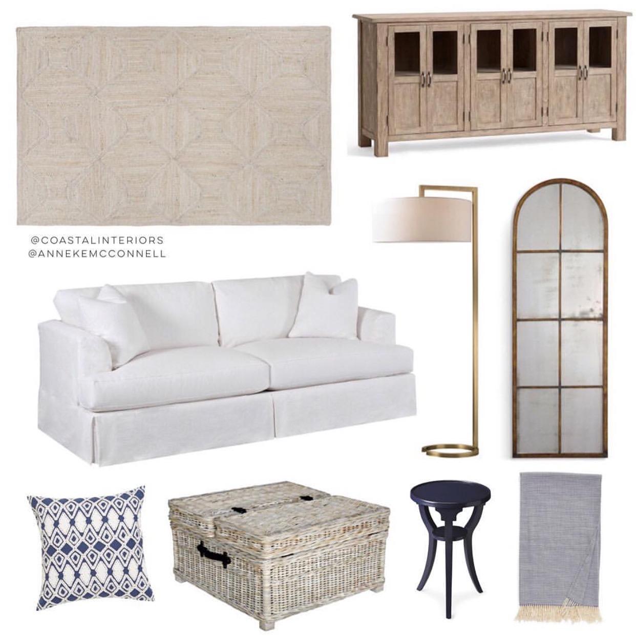 Coastal Living Room Inspiration