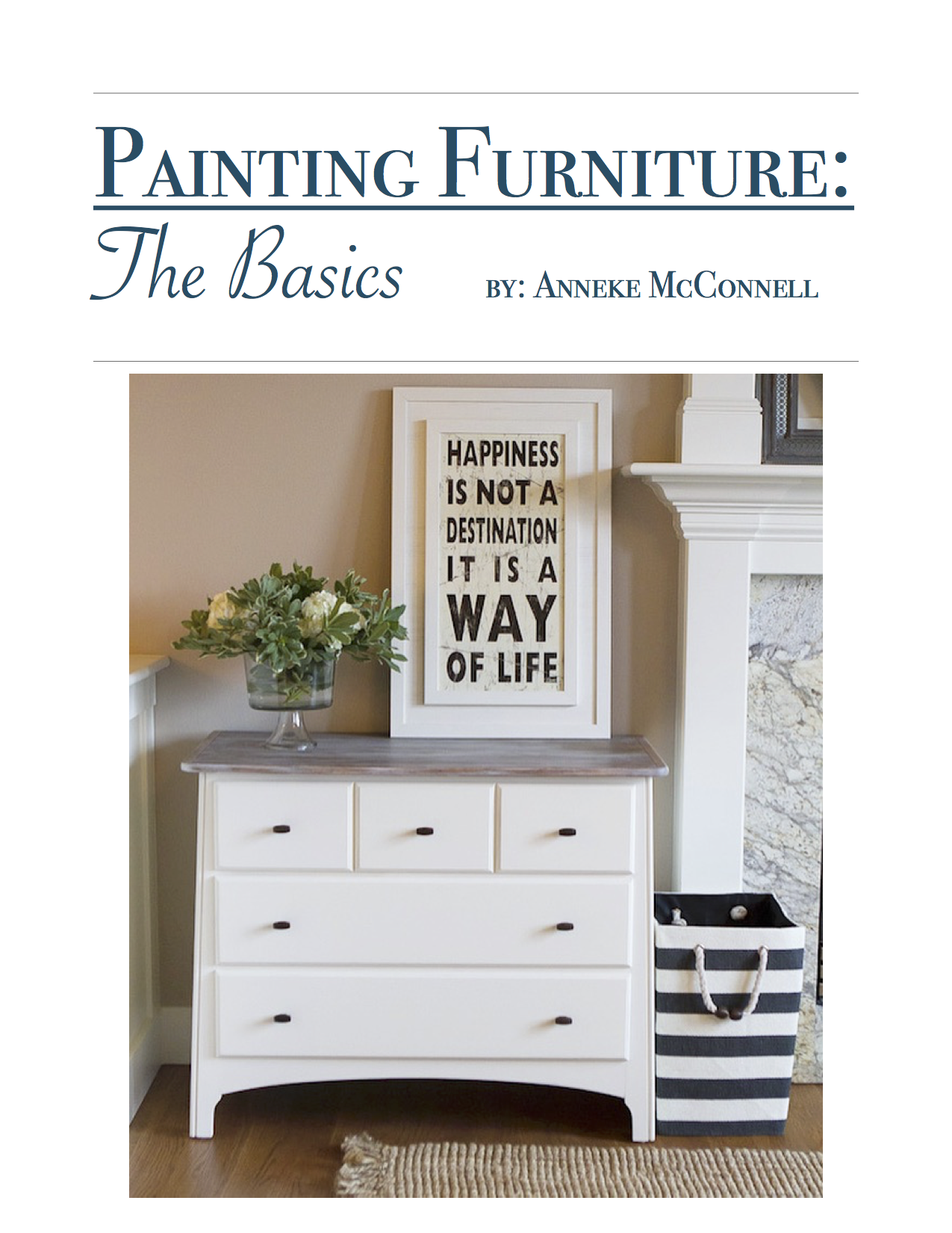 How To Paint Furniture the easy way