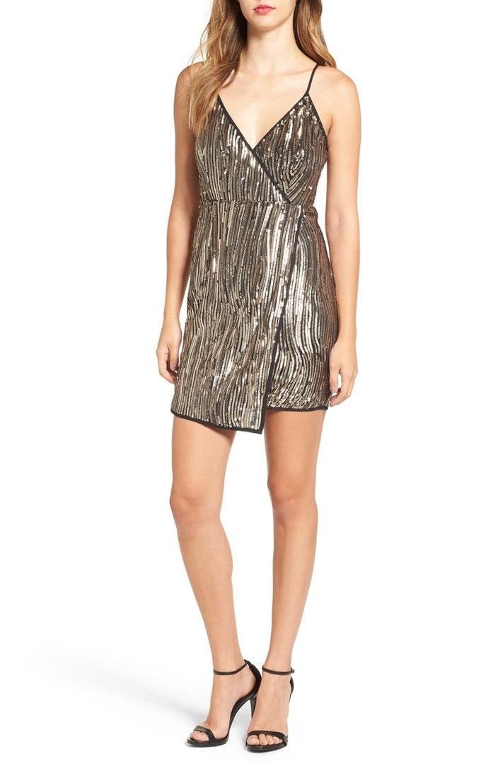 Holiday Sequin Sheath Dress