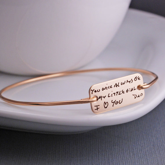 You Will Always Be My Little Girl Bracelet - Holiday Gift Guide