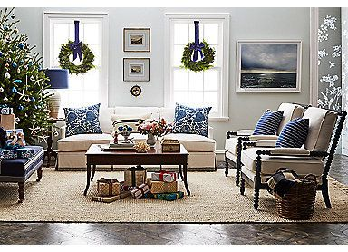 Coastal Christmas Decorating Idea