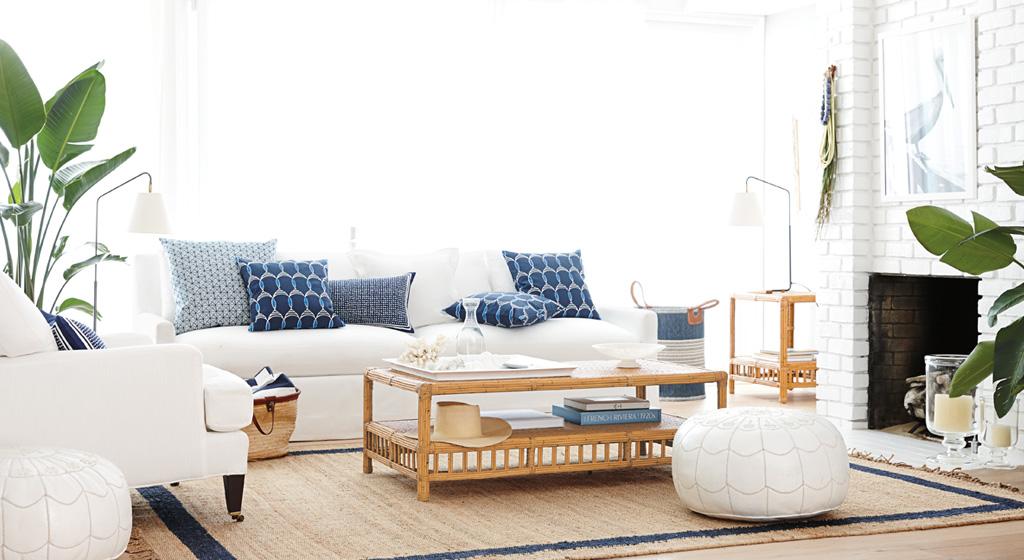 Gorgeous Coastal Living Room