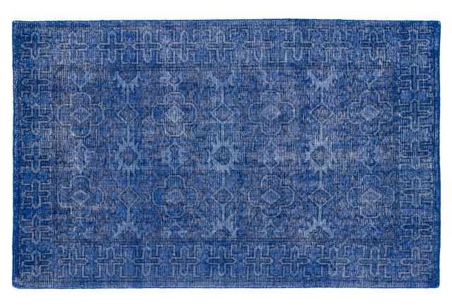Navy Blue Rug for coastal living
