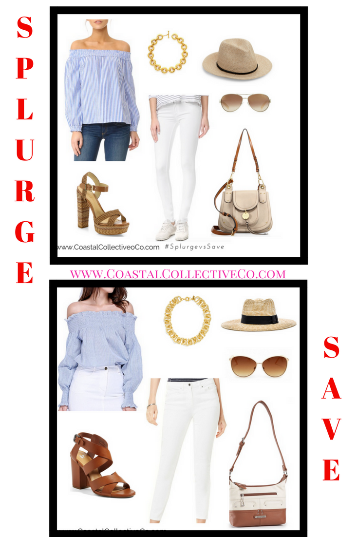Splurge vs. Save Spring Outfit Ideas