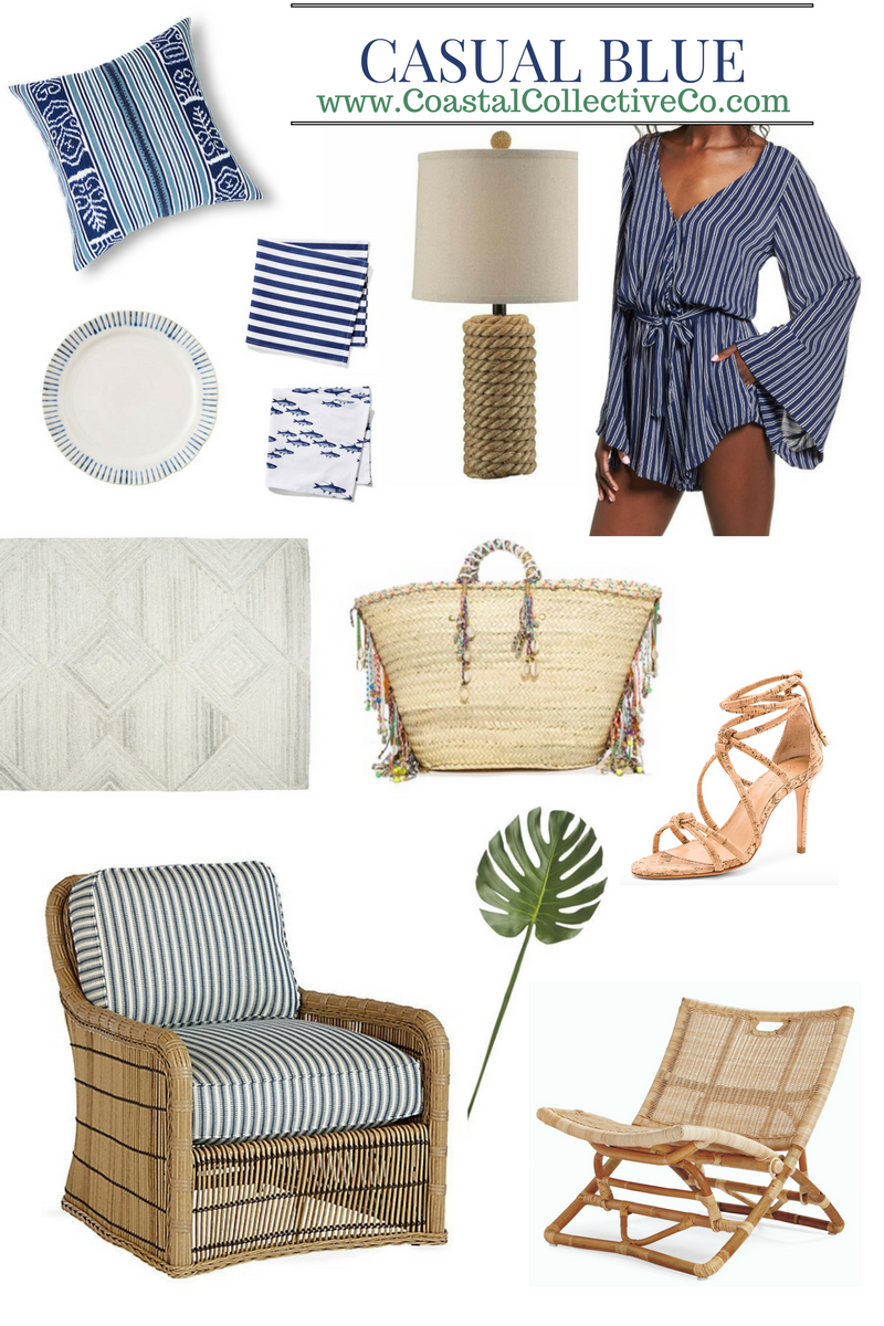 Casual Blues for Summer with Coastal Collective Co. blog
