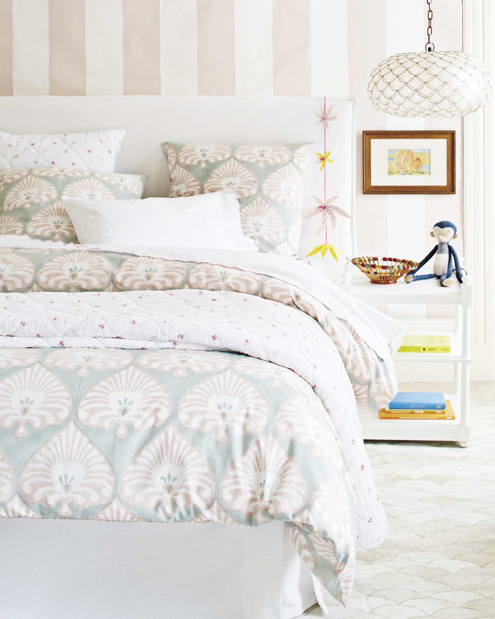 Ramona Duvet Cover for Girls Coastal Bedroom