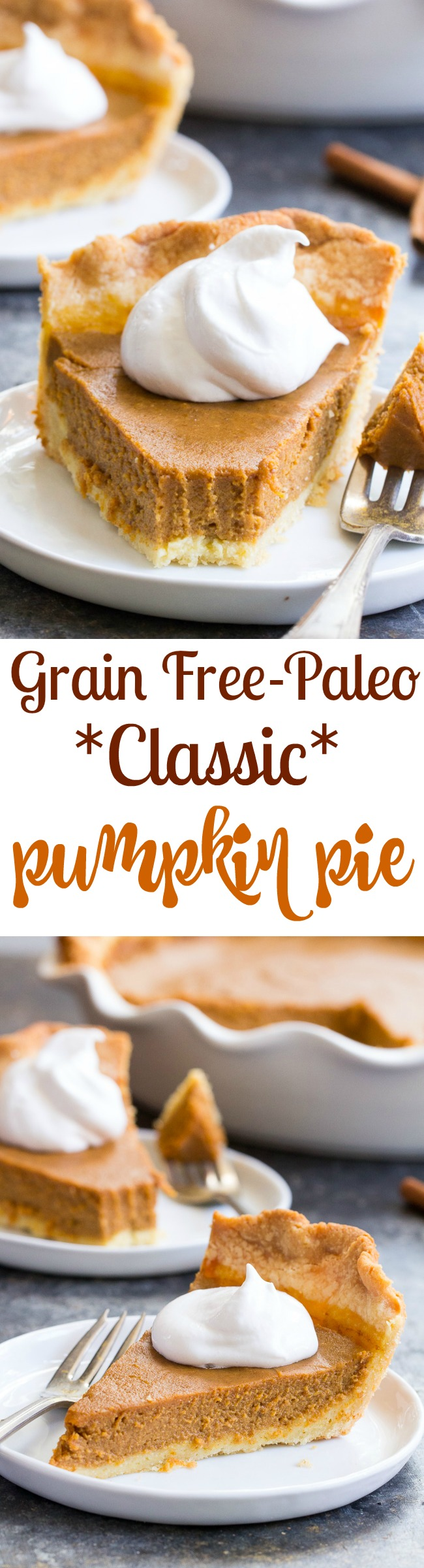 Grain Free Paleo Pumpkin Pie
