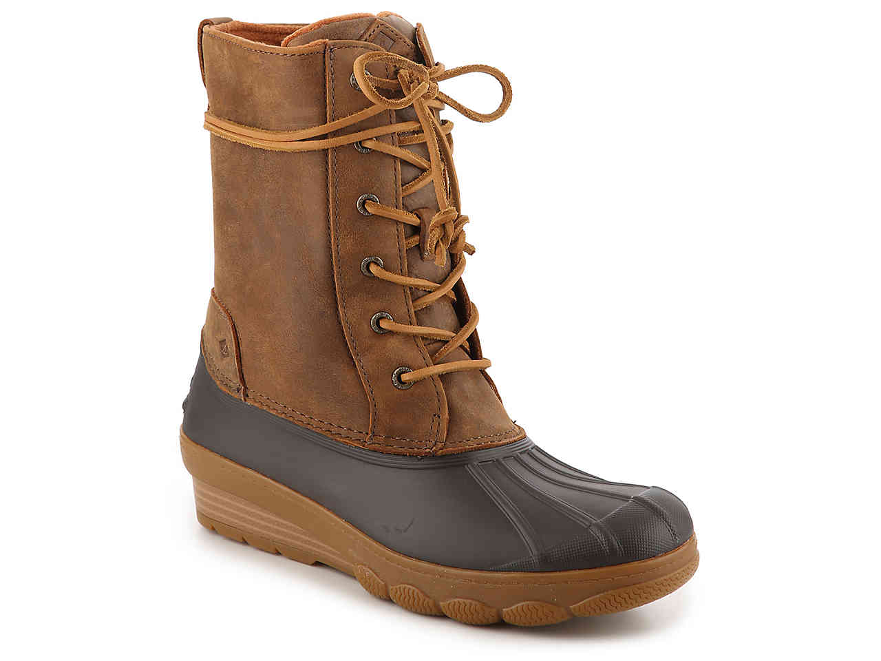 SPERRY TOP-SIDER SALTWATER REEVE WEDGE DUCK BOOT