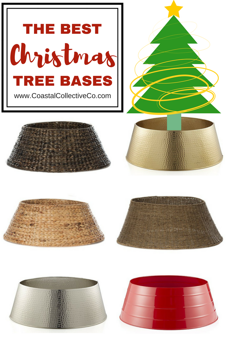 The Best Christmas Tree Collars and Bases