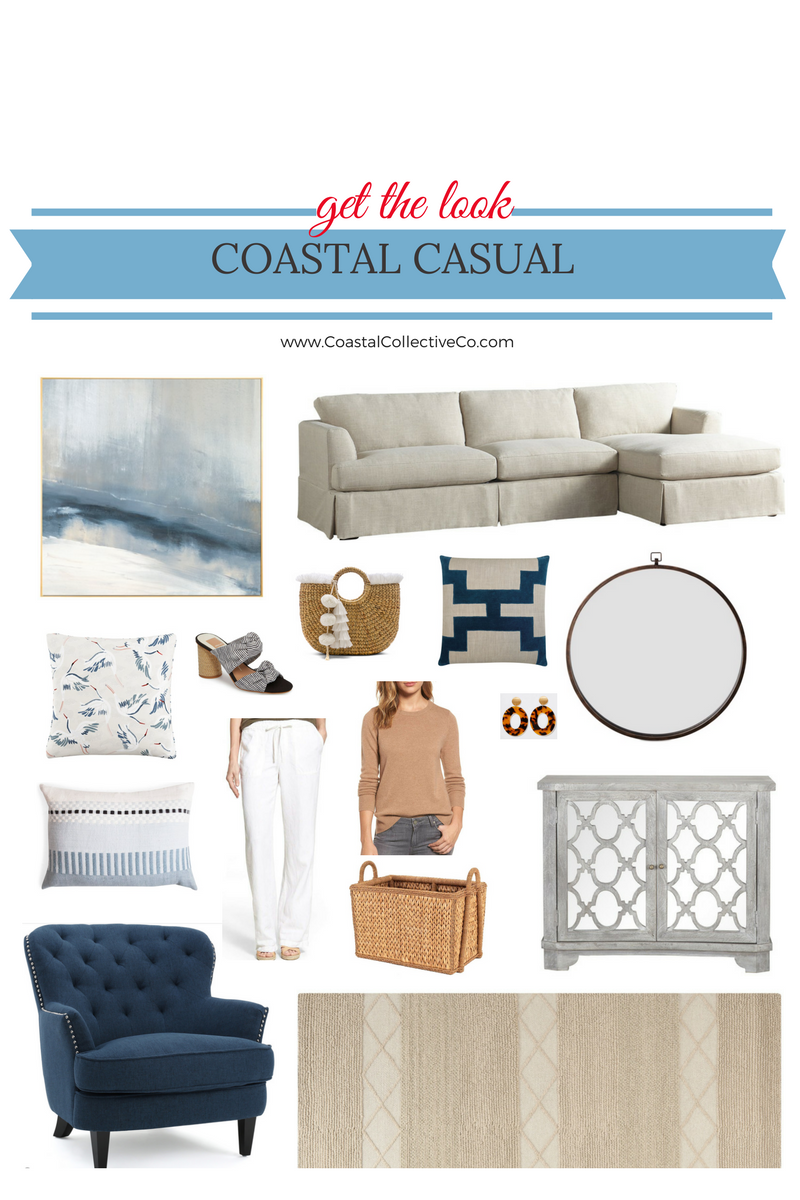 Coastal Casual Home and Style Picks