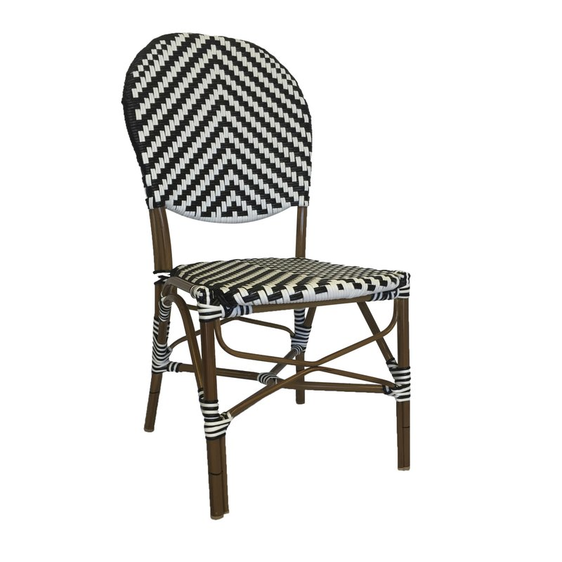 Stacking Patio Bistro Chair Set