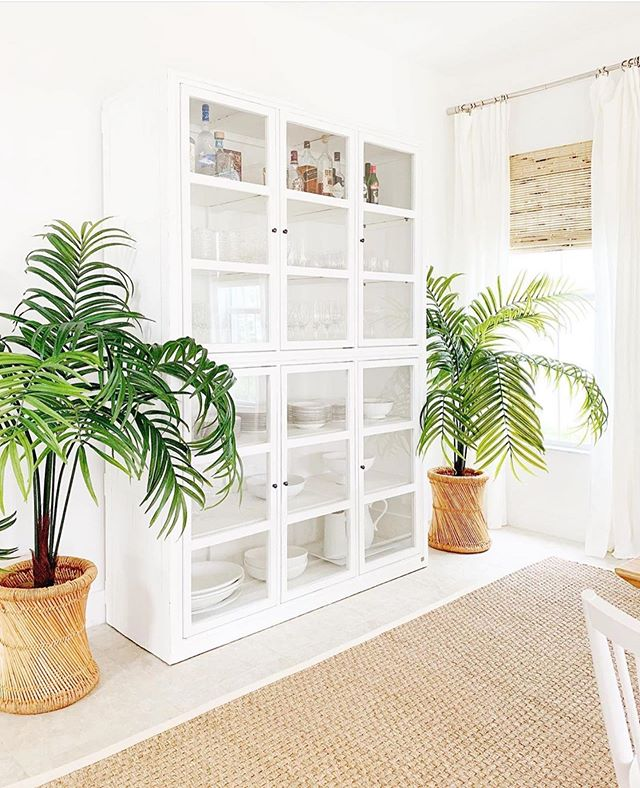 The Power of Plants.🌴😱via: @shirabessinteriors ⬅️Do you have go-to plants for your home?? I just got a Maidenhair Fern around Mother's Day and immediately started dying😬, but with all of YOUR help, I've been able to bring back to life and it's doing really well right now! I LOVE IT!🥰🌿 I'll share a little update for those interested in stories!😆🙌🏻 #houseplants