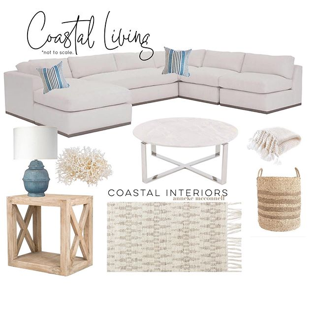 *NEW* 🌿Coastal Living Room Design🌿 WHICH ITEM STANDS OUT?! 🌿 Most items are on MAJOR sale right now and I have also linked some alternatives in price and color.🙌🏻 See some more designs ➡️ #designsbyanneke ⬅️ . Design Details: CoastalCollectiveCo.com/instagram. AND the LTK app 🙌🏻 http://liketk.it/2DBv5 #liketkit @liketoknow.it #LTKhome #LTKsalealert #smmakelifebeautiful #interiordecor #coastalchic #familyroom #serenaandlily #marbletable #homedecorating #homeinspo #interiordesign #interiordesignideas #westcoast #livingroomdecor #livingroom #luxuryhomes #luxuryhome #placeswegather #coastalinteriors #mydomaine #instahome #onekingslane #lighting #beautifulhomes #coastalhome #coastalliving #coastal #housegoals