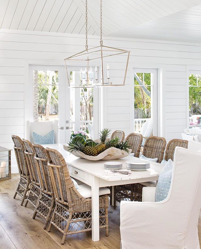 ❤️You won't regret taking a minute to check out @pineapplesdesigngroup #cottageoncabot project!! 🍍🍍🍍 ➡️What do you love most?!⬅️ . Design: @pineapplesdesigngroup  Photo: @jessglynnphoto . . . . . #interiordecorating #interiordecor #diningroom #diningroomdecor #instahome #interior123 #homedecorating #homeinspo #interiordesign #interiordesignideas #kitchensofinstagram #inspiremehomedecor #interiors #interior4inspo #homesofig #homesofinsta #placeswegather #coastalinteriors #traditionalhome #housebeautiful #smmakelifebeautiful #mydomaine #housedecor #lighting #beautifulhomes #coastalhome #coastalliving #coastal #housegoals