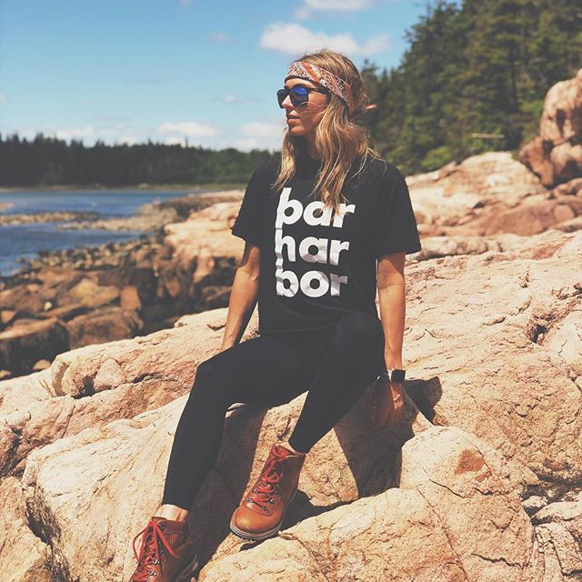 Our Mainer muse! @honestly.britt when are we shooting the catalog??